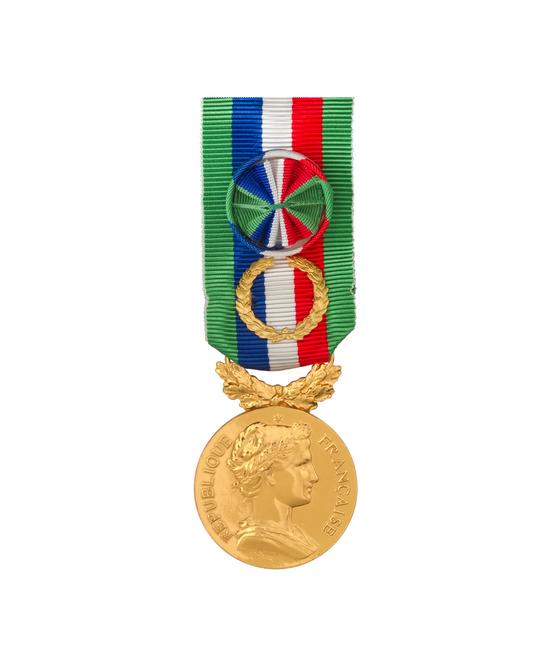 Médaille d'Honneur Agricole  40 ans Grand Or
