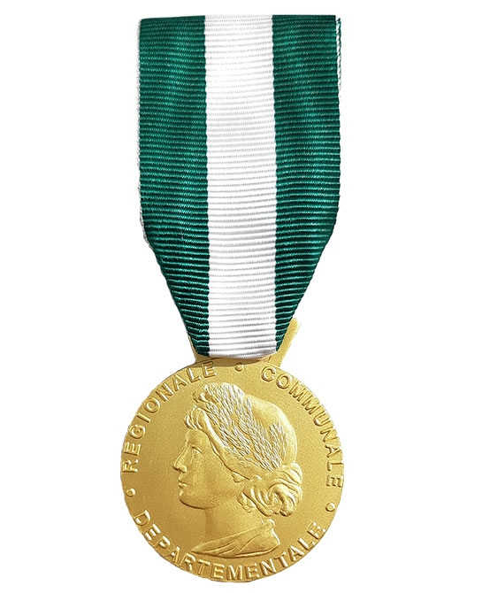Médaille Grade Vermeil - 30 ans