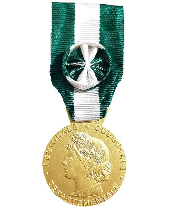 Médaille Grade                                                                                                                                                                     Or - 35 ans