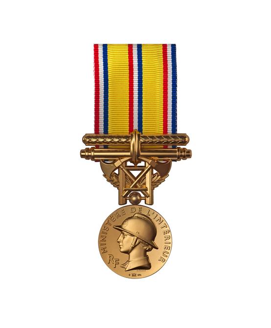 Médaille d'Honneur des Sapeurs Pompiers - 40 ANS