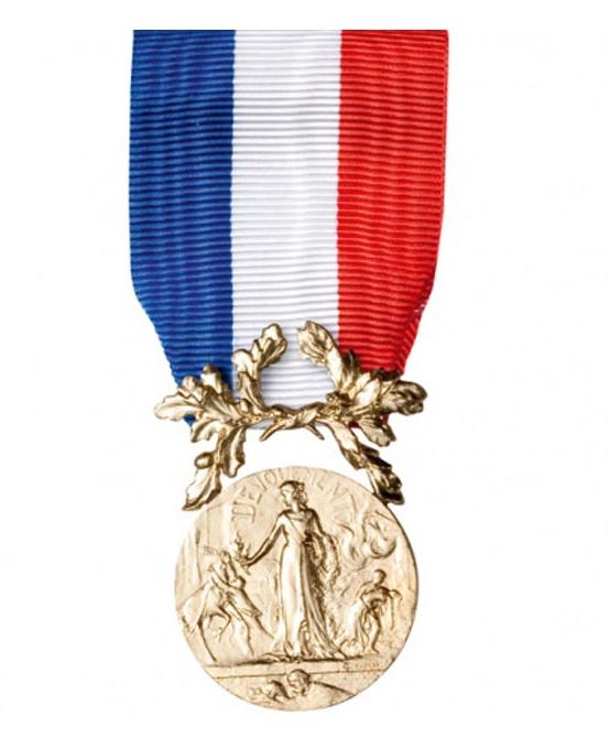 Courage & Dévouement - Bronze