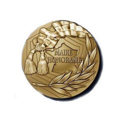 MEDAILLE MAIRE HONORAIRE