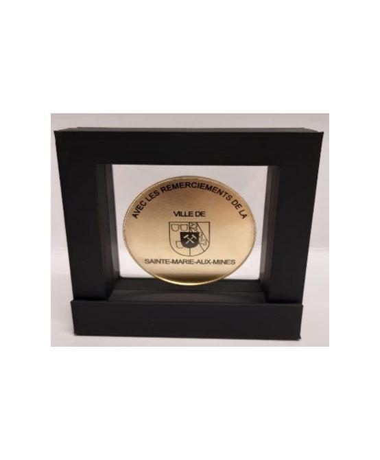 Médaille personnalisable dans cadre