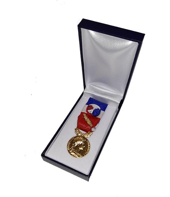 Médaille d'Honneur du Travail  35 ans Or