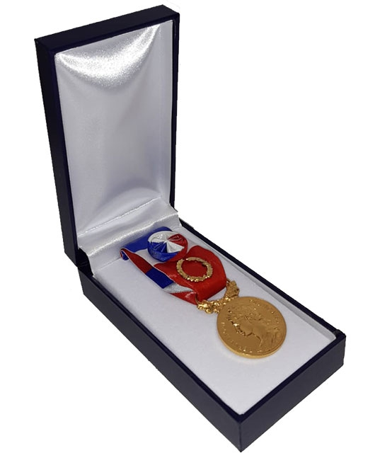 Médaille d'Honneur du Travail 40 ans Grand Or