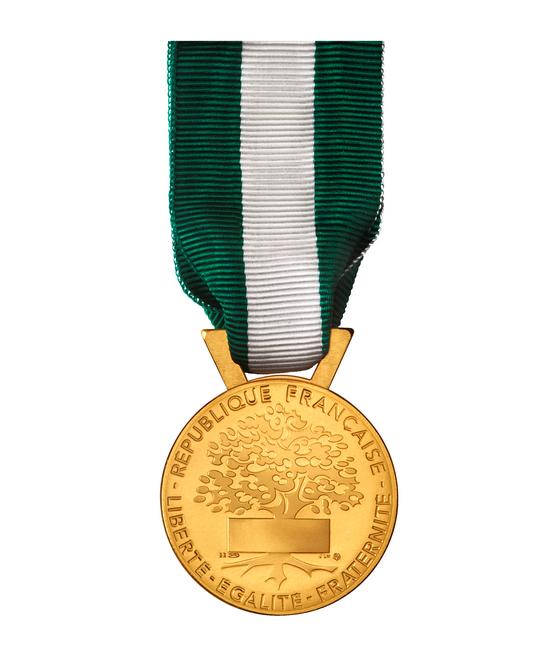Médaille d'honneur Or/Vermeil -  35 ans