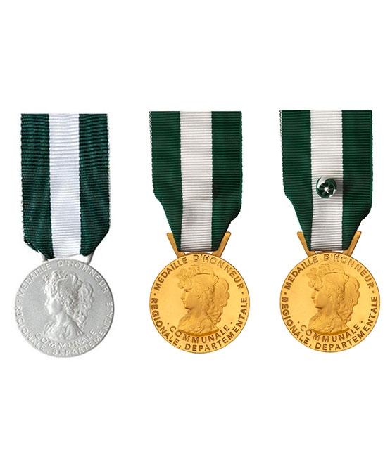 Médaille d'honneur Argent - 20 ans