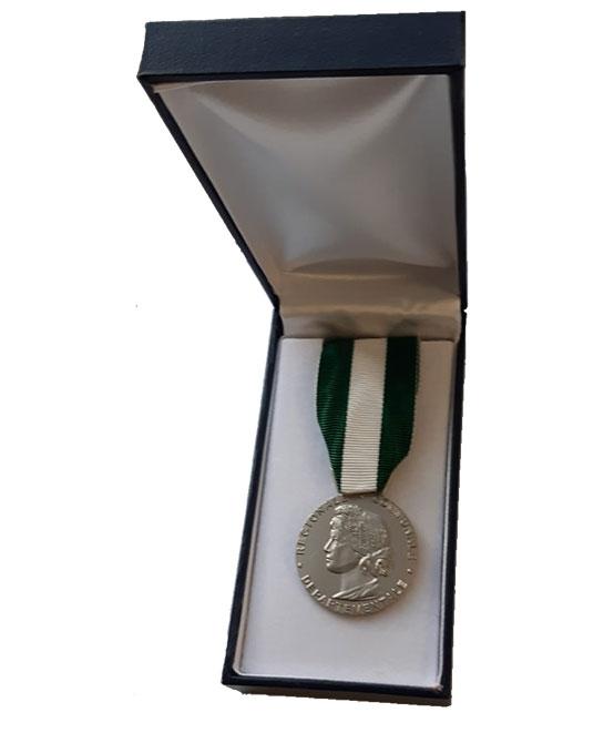 Médaille Grade Argent  -  20 ans