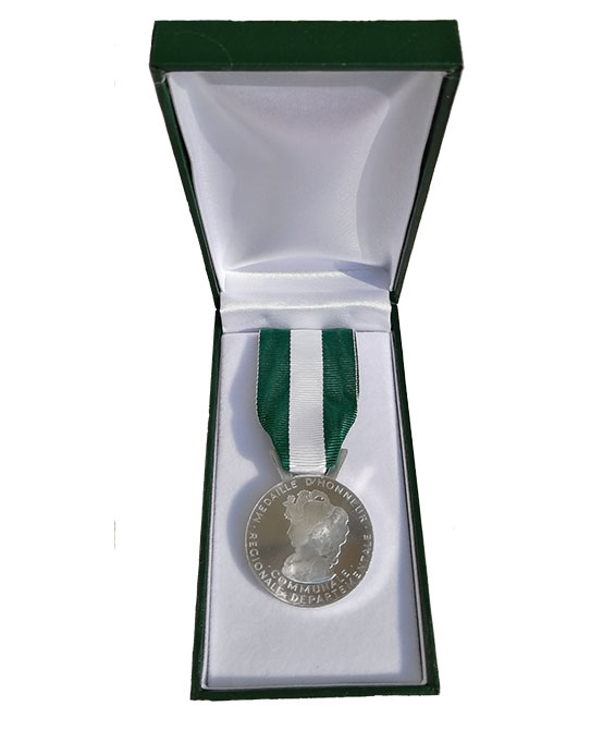 Médaille d'honneur en bronze - 20 ans