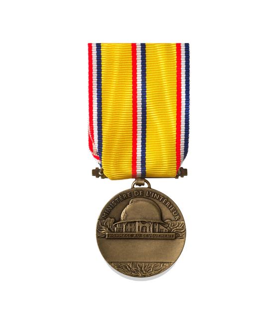 Médaille d'Honneur des Sapeurs Pompiers - 10 ANS