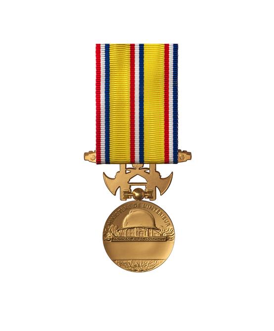 Médaille d'Honneur des  Sapeurs Pompiers - 30 ANS
